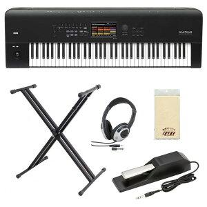 KORG NAUTILUS-73【入門セット】 【Fluid Audio C5/C5W(pair)台数限定・セット購入キャンペーン!】