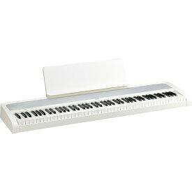 【3か月無料オンラインピアノレッスン付】KORG B2-WH【ホワイト】コルグ 電子ピアノ【代引不可】【あす楽対応】【土・日・祝 発送対応】【p5】