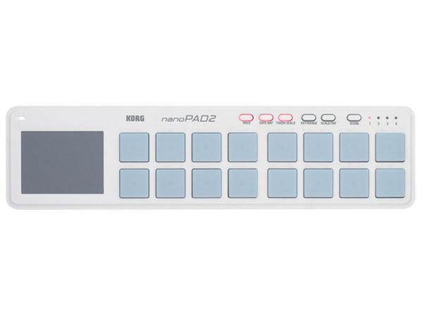 KORG nanoPAD 2 WH【ホワイト】【あす楽対応】【土・日・祝 発送対応】