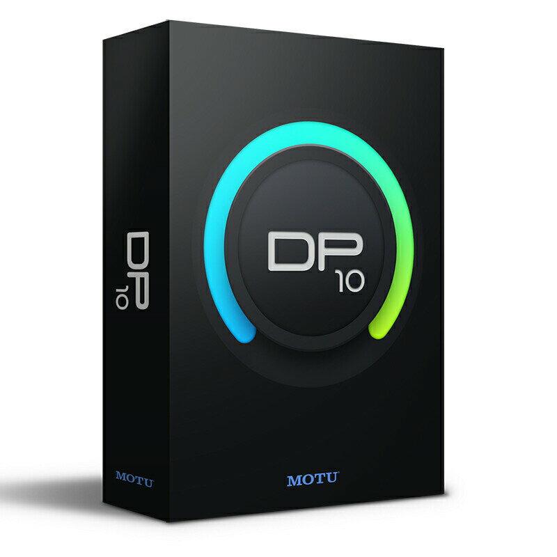 MOTU DP10 (Digital Performer 10)【あす楽対応】【土・日・祝 発送対応】