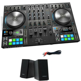 Native Instruments TRAKTOR KONTROL S4 MK3 + PM0.1e スピーカーSET 【選べる特典プレゼント中!】【p10】[NI201809]