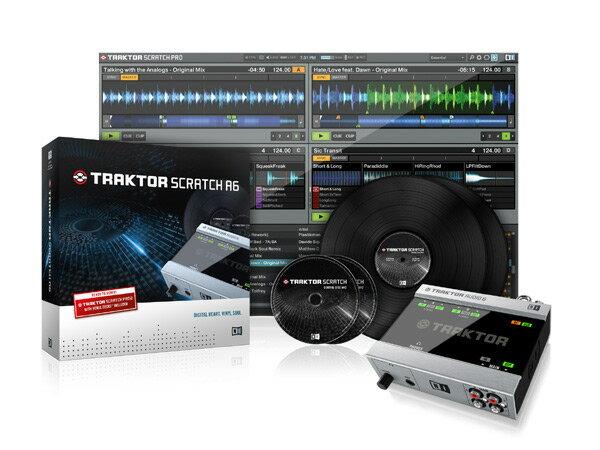 Native Instruments TRAKTOR SCRATCH A6 【LAPTOPスタンドプレゼント中!】 【p5】