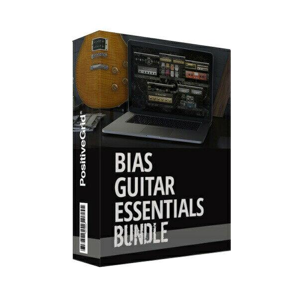 Positive Grid BIAS Guitar Essentials【オンライン納品専用】※代金引換はご利用頂けません。【p5】