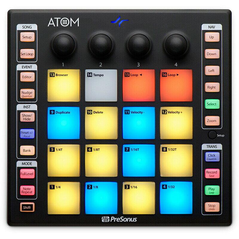 PreSonus ATOM【初回数量限定イントロプライス】【予約商品・12月末入荷予定】