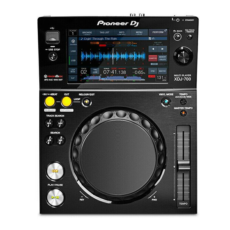 Pioneer DJ XDJ-700 【今なら16GBUSBフラッシュメモリ×1本プレゼント!】 【あす楽対応】【土・日・祝 発送対応】【P10】