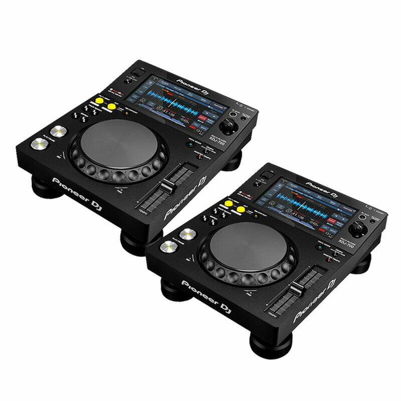 Pioneer DJ XDJ-700 TWIN SET 【今なら16GBUSBフラッシュメモリ×2本をプレゼント!】