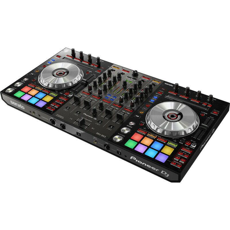 Pioneer DJ DDJ-SX3【初心者向け使い方解説本Seratoパーフェクトガイド&高品質USBケーブルプレゼント!】【Serato FlipとPitch 'n Time DJライセンス付属】【あす楽対応】【土・日・祝 発送対応】