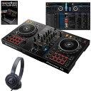Pioneer DJ DDJ-400 ATH-S100BK 初心者ヘッドホン + rekordboxパーフェクトガイドセット【セットアップチュートリアル…