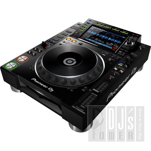 Pioneer DJ CDJ-2000NXS2【専用保護カバーDECKSAVERとUSBフラッシュメモリプレゼント!】【あす楽対応】【土・日・祝 発送対応】