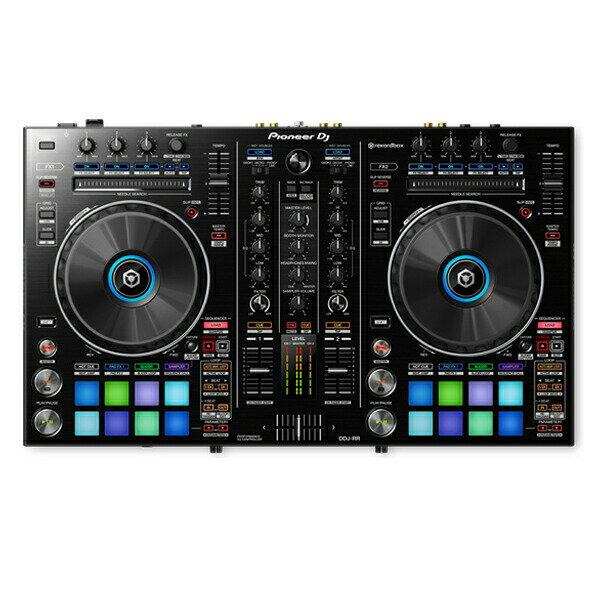 Pioneer DJ DDJ-RR【初心者向け教則本rekordboxパーフェクトガイドと高品質EXFORM 国産USB ケーブルプレゼント!】 【あす楽対応】【土・日・祝 発送対応】【ddj_0520】