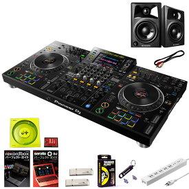 Pioneer DJ XDJ-XZ + AV42 スピーカーセット 【今なら豪華7大特典プレゼント!】 【USBメモリでのDJプレイ、rekordbox djライセンス付属、Serato DJ Pro無償版に対応】