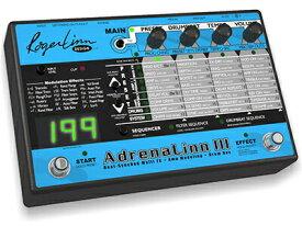 Roger Linn Design AdrenaLinn III (ビートシンクフィルターFX+アンプモデリング+ドラムボックス)