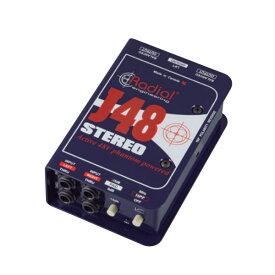 Radial ステレオ・アクティブDIボックス J48 Stereo【p5】