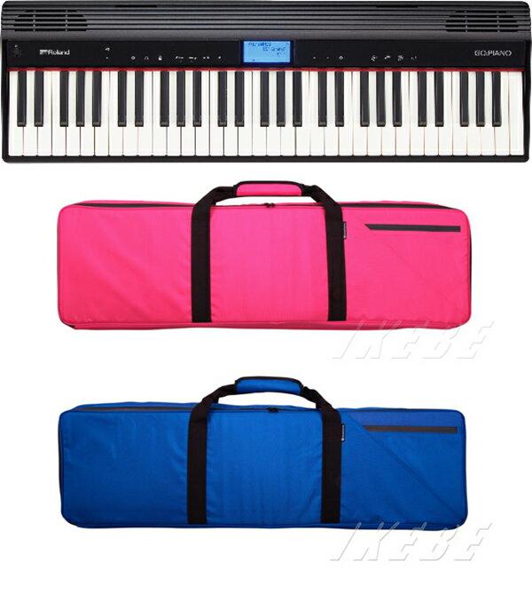Roland GO:PIANO Entry Keyboard (GO-61P)+【カラーが選べるNoah'sark ソフトケースセット】【p10】【あす楽対応】【土・日・祝 発送対応】