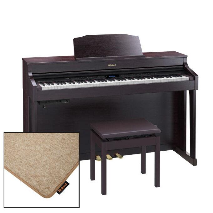 Roland HP603A-CRS [クラシックローズウッド調仕上げ]【純正ピアノ・マット(HPM-10)セット】【数量限定!豪華特典付き!】【全国配送・組立設置無料(※沖縄・離島は除く)】【p10】