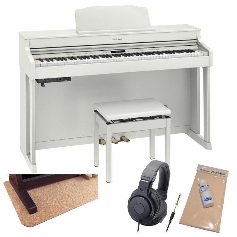 Roland HP603A-WHS [ホワイト]【数量限定!豪華3大特典+汎用ピアノマットセット!】【全国配送・組立設置無料(※沖縄・離島は除く)】※代金引換はご利用いただけません【p10】