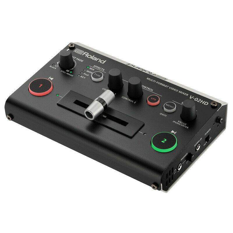 Roland V-02HD [Multi Format Video Mixer] 【p5】