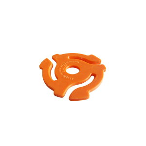 stokyo Plastic 45RPM Insert Adapter【Orange】 (1袋20個入り)