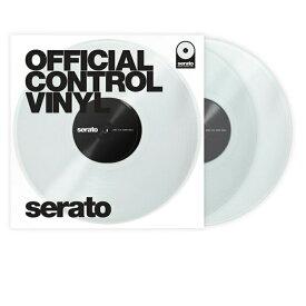 serato Control Vinyl Performance Series[CLEAR]【2枚セット】