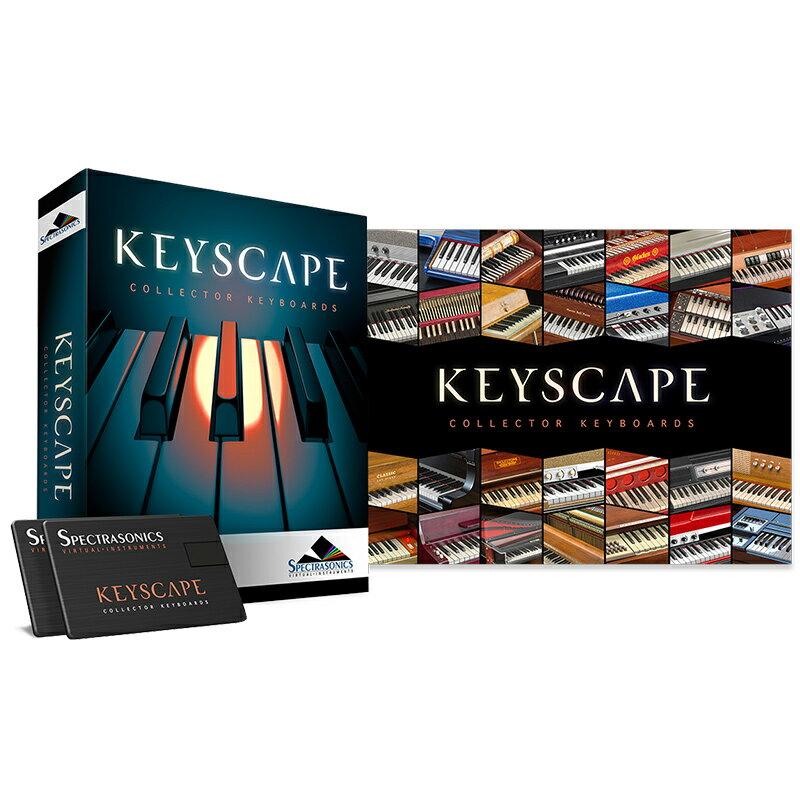 SPECTRASONICS KEYSCAPE (USB Drive) SP【7/19正午までの期間限定特価!Spectrasonics 2018 Early Summer Sale Vol.2】
