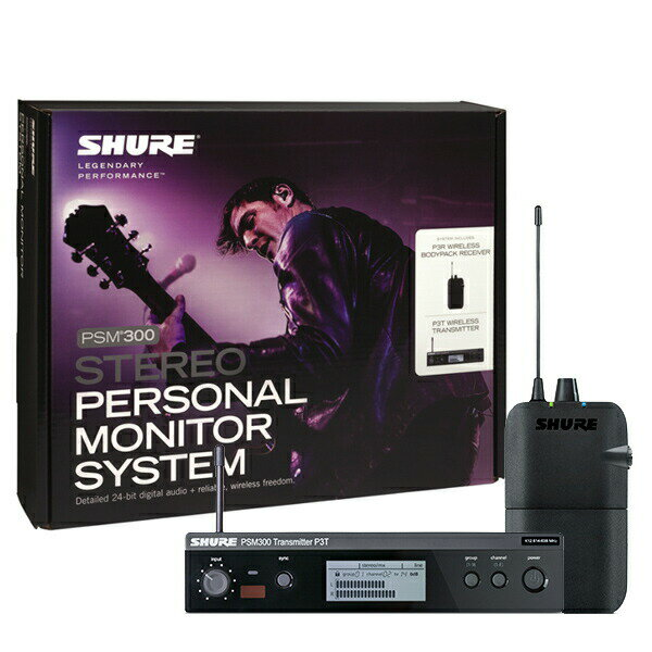 SHURE P3TJR-JB PSM300 SYSTEM, WITHOUT EARPHONES