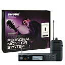 SHURE P3TJR PSM300 SYSTEM, WITHOUT EARPHONES(次回2月上旬入荷予定)