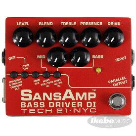 TECH21 SANSAMP BASS DRIVER DI V2 (Vermilion) 【イケベオリジナル限定カラー】【ひなっち解体新書プレゼント!】