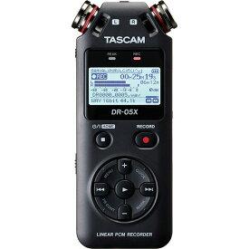 TASCAM DR-05X【あす楽対応!土・日・祝発送可能!】(配信おすすめ機材!)