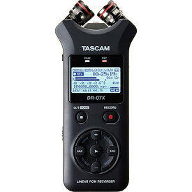TASCAM DR-07X(配信おすすめ機材!)(あす楽対応!土・日・祝発送可能)