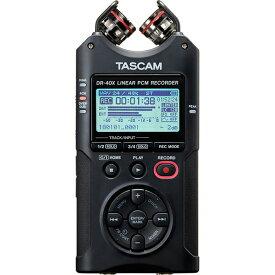 TASCAM DR-40X【あす楽対応!土・日・祝発送可能!】(配信おすすめ機材!)