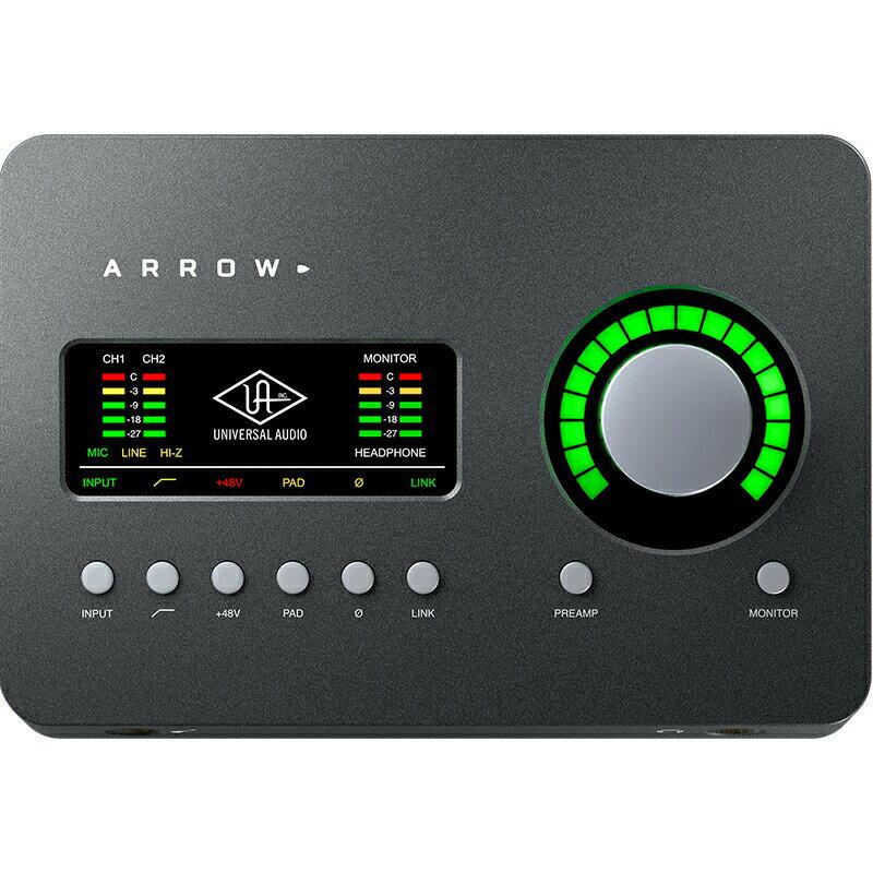 Universal Audio Arrow(アロー)※Thunderbolt 3ケーブルは別売りです【p10】【あす楽対応】
