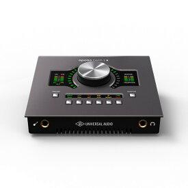 Universal Audio Apollo Twin X Quad Heritage Edition【期間限定 Desktop Platinum Vocalプロモーション開催中】【あす楽対応】【土・日・祝 発送対応】 【ikbp1】