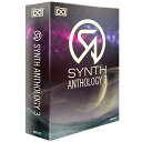 UVI Synth Anthology 3(オンライン納品専用)※代金引換、後払いはご利用頂けません。【11/11正午までの期間限定!発売記念特価】