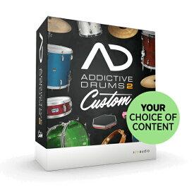 XLN Audio Addictive Drums 2 Custom (オンライン納品専用)※代金引換、後払いはご利用頂けません。【送料無料】【数量限定キャンペーン特価】