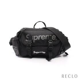 シュプリーム Supreme Waist bag ボディバッグ ウエストバッグ ナイロンキャンバス ブラック ホワイト 2WAY 20SS 【中古】
