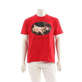 【10%OFFクーポン&P5倍】シュプリーム Supreme Leda And The Swan Tee Tシャツ 赤 2019SS 【メンズ】【中古】【送料無料】