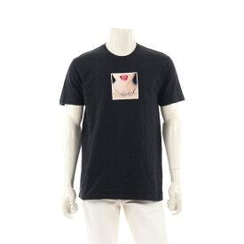【10%OFFクーポン&P5倍】シュプリーム Supreme Necklace Tee Tシャツ カットソー 黒 マルチカラー 18SS 【メンズ】【中古】【送料無料】