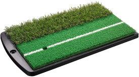 Tabata(タバタ) ゴルフ練習用ショットマット 2WAY(ツーウェイ) ショット&ラフマット 430×253mm フルショット対応 GV0264