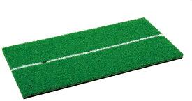 Tabata(タバタ) ゴルフ ショット用マット ゴルフ練習用 ショットマット 286 250×500mm ラバースポンジ付 フルショット対応 GV0286