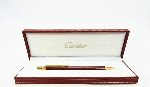 【送料無料】Cartier/カルティエ ツイスト式 ボールペン【中古】