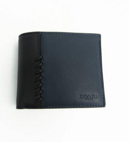 COACH/コーチ  アウトレット パスケース付二つ折り財布 【中古】