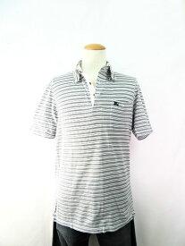 BURBERRY/バーバリー LONDON 半袖メンズポロシャツ(Lサイズ) 中古