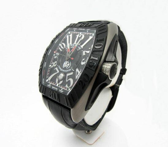 【送料無料】FRANCK MULLER/フランクミュラー コンキスタド グランプリ オートマチック腕時計 【中古】