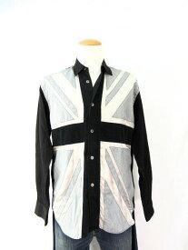 送料無料 COMME des GARCONS SHIRT/コムデギャルソン シャツ 長袖シャツ(Sサイズ) 中古