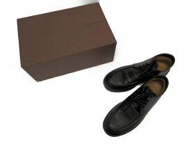 送料無料 LOUIS VUITTON/ルイヴィトン モノグラム レザー ブーツ (約28cm) 中古