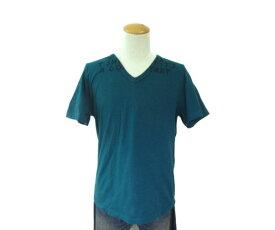 Maison Martin Margie/マルタンマルジェラ 半袖 Vネック Tシャツ (M) 中古