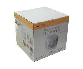 未使用品 アルファックス・コイズミ 圧力式電気鍋 Pressure cooker APC-T19/W 中古 送料無料