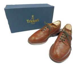 Trickers トリッカーズ バートン シューズ M5633 約25cm 中古 送料無料