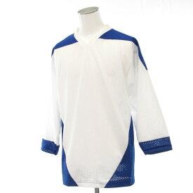 【中古】◆K1 Sports wear メッシュ ホッケーシャツ 2着セット Sサイズ◆ ホワイト系/まとめ売り/スポーツ/ウエア/メンズ