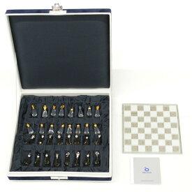 【中古】◆PRECIOSA プレシオサ クリスタルチェスセット ケース付き ホビー 置物
